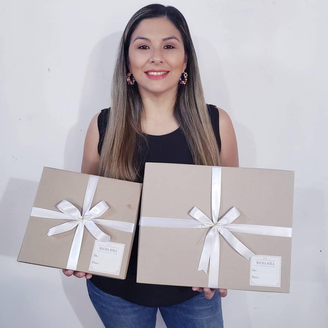 Maura Ávila, propietaria del negocio.