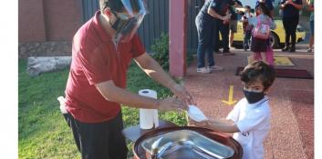 Crean burbujas seguras para el alumnado